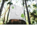 The BaBag - 100% biodegradable and compostable bag made from recycled wood.