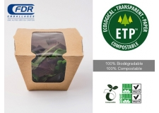 ETP - Ecological transparent film 100% biodegradable and compostable.