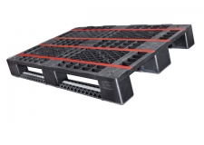 Euro E7 - The Euro E7 is a new plastic pallet in the dimensions of a Euro-pallet. It integrates seamlessly into conveyor systems tailored to Euro-pallets.