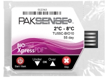 Temperature recorder PakSense