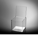 Transparent Cubic Box - Beautiful high-end transparent box, 12 cm asides.