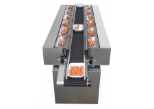 KOMBINE - horizontal multihead weigher for delicate products