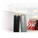 Stretch perforated intended to carry and wrap any kind of product that needs ventilation our noisture.