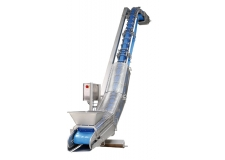 Liftvrac, the Ultimate lifting solution - Unique lifting conveyor dedicated to delicate, sticky or pasty bulk products.