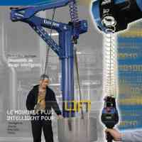 G-FORCE / EASY ARM - Intelligent lifting devices with ergonomic handles/tooling