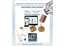 UNIVERRE 3D Packaging creator - Create your Packaging: shape, design, customization...