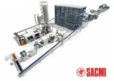 Sacmi provides integrated solutions - for the production of preforms&caps, filling and labelling
