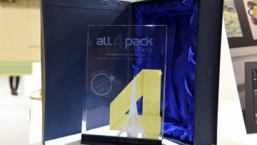 ALL4PACK INNOVATIONS trophy
