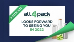 ALL4PACK will be held on November 2022